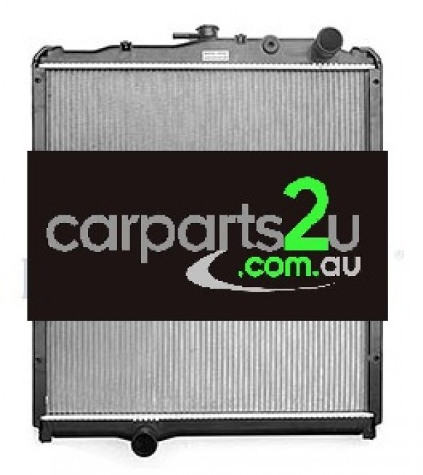 To suit TRUCKS MITSUBISHI FUSO RADIATOR - New quality car parts & auto spares online Australia wide with the convenience of shopping from your own home. Carparts 2U Penrith Sydney