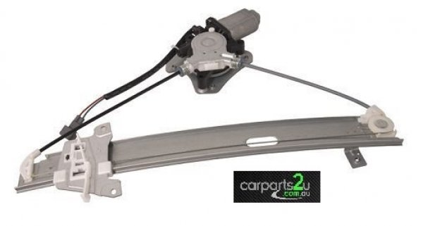 TO SUIT MITSUBISHI 380 380  WINDOW REGULATOR  LEFT - BRAND NEW LEFT HAND SIDE REAR ELECTRIC WINDOW REGULATOR WITH MOTOR TO SUIT MITSUBISHI 380 (09/2005-12/2008)