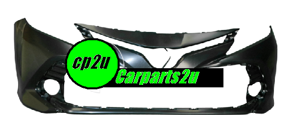 To suit TOYOTA CAMRY ASV50  FRONT BUMPER - New quality car parts & auto spares online Australia wide with the convenience of shopping from your own home. Carparts 2U Penrith Sydney