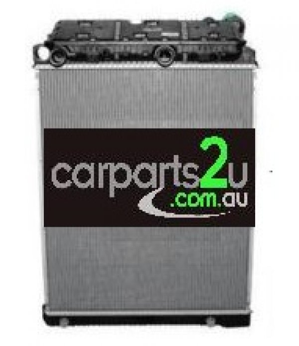 To suit TRUCKS MERCEDES BENZ ACTROS  RADIATOR - New quality car parts & auto spares online Australia wide with the convenience of shopping from your own home. Carparts 2U Penrith Sydney