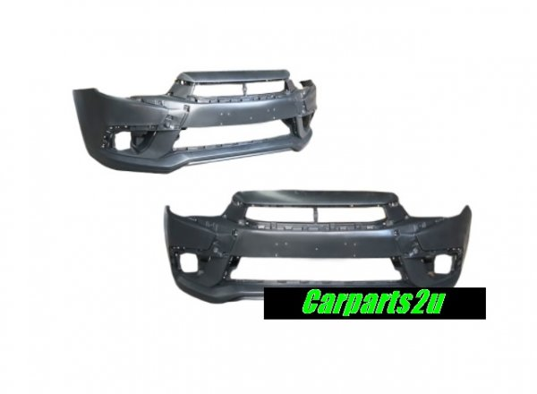 TO SUIT MITSUBISHI ASX ASX XC  FRONT BUMPER  NA - BRAND NEW FRONT BUMPER W/FLARE TYPE TO SUIT MITSUBISHI ASX XC MODEL BETWEEN 11/2016-08/2017