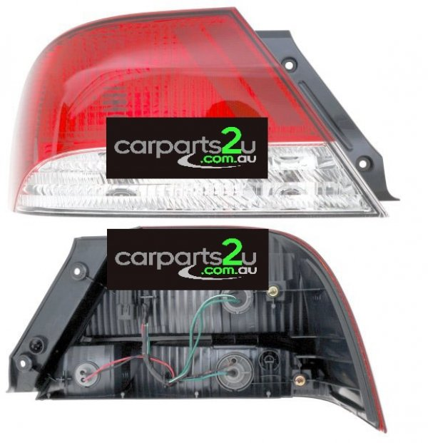 TO SUIT MITSUBISHI LANCER CG  TAIL LIGHT  LEFT - LEFT HAND SIDE TAIL LIGHT TO SUIT ALL MITSUBISHI LANCER CG MODELS BETWEEN 2002-2003