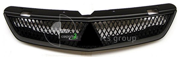 TO SUIT MITSUBISHI LANCER CH  GRILLE   - BRAND NEW ONE PIECE BLACK GRILLE TO SUIT MITSUBISHI LANCER CH (09/2006-09/2007)  GENUINE MITSUBISHI PART  - New quality car parts & auto spares online Australia wide with the convenience of shopping from your own home. Carparts 2U Penrith Sydney