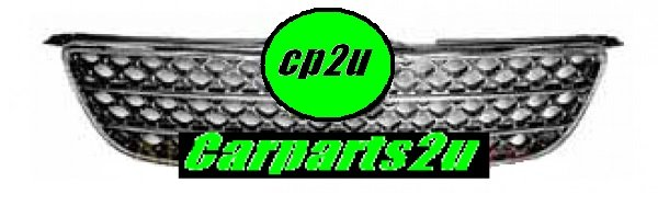 TO SUIT TOYOTA COROLLA ZZE122  GRILLE  NA - BRAND NEW CHROME TYPE (HONEYCOMB) GRILLE TO SUITTOYOTA COROLLA SEDAN/HATCH/WAGON MODELS BETWEEN 10/2001-4/2004 ONLY  - New quality car parts & auto spares online Australia wide with the convenience of shopping from your own home. Carparts 2U Penrith Sydney