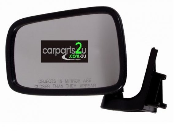 To suit FORD COURIER  FRONT DOOR MIRROR - New quality car parts & auto spares online Australia wide with the convenience of shopping from your own home. Carparts 2U Penrith Sydney