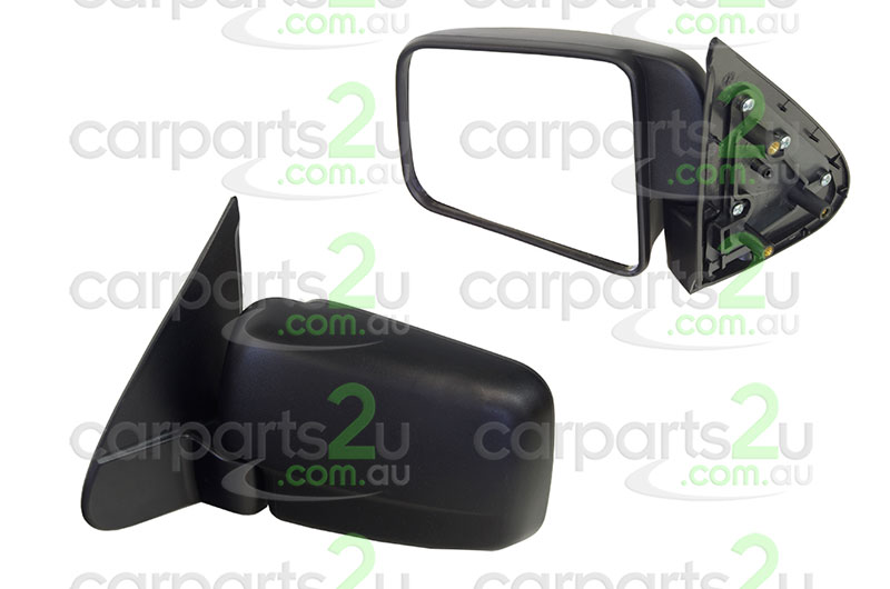 TO SUIT FORD COURIER PG/PH  FRONT DOOR MIRROR  LEFT - BRAND NEW LEFT HAND SIDE FRONT DOOR MIRRORBLACK MANUALTO SUIT FORD COURIER (01/1999-10/2006)  - New quality car parts & auto spares online Australia wide with the convenience of shopping from your own home. Carparts 2U Penrith Sydney