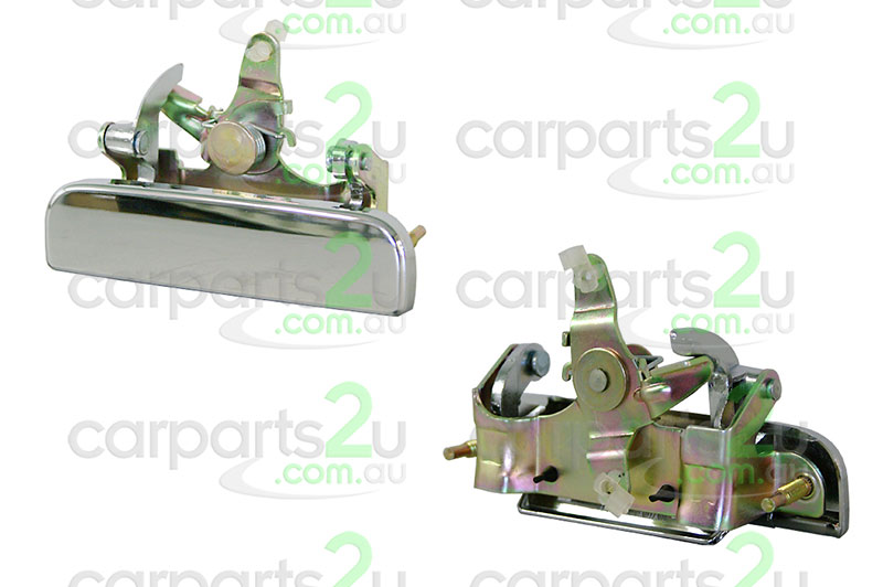 To suit FORD COURIER  HIACE VAN  TAIL GATE HANDLE - New quality car parts & auto spares online Australia wide with the convenience of shopping from your own home. Carparts 2U Penrith Sydney