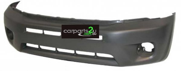 TO SUIT TOYOTA RAV 4 RAV 4 ACA20  FRONT BUMPER  NA - BRAND NEW FRONT BUMPER TO SUIT TOYOTA RAV 4 3/5 DOOR MODELS BETWEEN (07/2003-10/2005)  WITHOUT FLARE HOLES TYPE  - New quality car parts & auto spares online Australia wide with the convenience of shopping from your own home. Carparts 2U Penrith Sydney