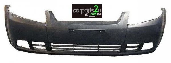 To suit DAEWOO KALOS  FRONT BUMPER - New quality car parts & auto spares online Australia wide with the convenience of shopping from your own home. Carparts 2U Penrith Sydney