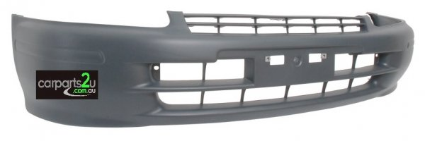 To suit TOYOTA STARLET  FRONT BUMPER - New quality car parts & auto spares online Australia wide with the convenience of shopping from your own home. Carparts 2U Penrith Sydney