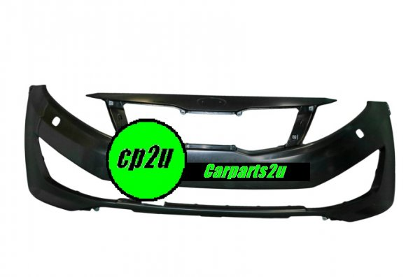 TO SUIT KIA OPTIMA OPTIMA TF  FRONT BUMPER  NA - BRAND NEW GENUINE KIA FRONT BUMPER W/O HEAD LIGHT WASHER TO SUIT KIA OPTIMA SI MODELS BETWEEN 01/2011-09/2013