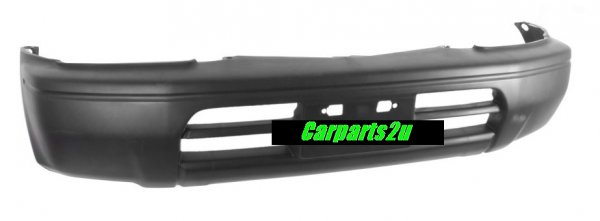 TO SUIT TOYOTA PRADO PRADO 95 SERIES  FRONT BUMPER   - BRAND NEW GENUINE TOYOTA FRONT BUMPER TO SUIT TOYOTA PRADO 95 SERIES MODELS BETWEEN 4/1996 - 6/1999 ONLY (W/FLARE HOLES, W/O FOG LIGHT HOLES)  - New quality car parts & auto spares online Australia wide with the convenience of shopping from your own home. Carparts 2U Penrith Sydney