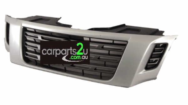 TO SUIT NISSAN NAVARA NP300  GRILLE   - BRAND NEW SLIVER/GREY GRILLE TO SUIT NISSAN NAVARA NP300 MODELS BETWEEN 04/2015-CURRENT  - New quality car parts & auto spares online Australia wide with the convenience of shopping from your own home. Carparts 2U Penrith Sydney