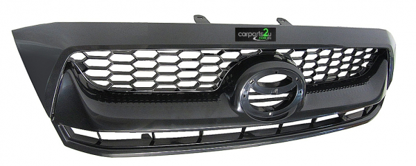TO SUIT TOYOTA  HILUX HILUX UTE  GRILLE  NA - BRAND NEW GRILLE (BLACK TOP MOULD, GREY MIDDLE/BOTTOM) TO SUIT TOYOTA HILUX 2WD/4WD MODELS BETWEEN 8/2008-7/2011