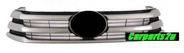 TO SUIT TOYOTA HILUX HILUX UTE  GRILLE  NA - BRAND NEW GENUINE TOYOTA SILVER/GREY GRILLE TO SUIT TOYOTA HILUXSR MODELS ONLY BETWEENMODELS5/2015-6/2018  - New quality car parts & auto spares online Australia wide with the convenience of shopping from your own home. Carparts 2U Penrith Sydney