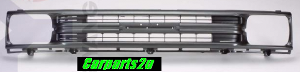 TO SUIT TOYOTA HILUX HILUX UTE 2WD  GRILLE  NA - BRAND NEW SILVER/GREY GRILLE TO SUIT TOYOTA HILUX 8/1988-8/1991 2WD MODELS ONLY