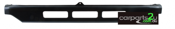 TO SUIT TOYOTA LANDCRUISER 70 SERIES  FILLER PANEL  NA - BRAND NEW UPPER GRILLE FILLER PANEL TO SUIT TOYOTA LANDCRUISER 70 SERIES MODELS BETWEEN 11/1984-1/2007  - New quality car parts & auto spares online Australia wide with the convenience of shopping from your own home. Carparts 2U Penrith Sydney