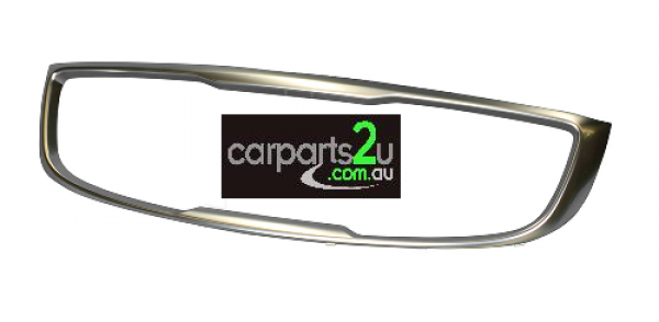 To suit KIA CARNIVAL VF  GRILLE SURROUND - New quality car parts & auto spares online Australia wide with the convenience of shopping from your own home. Carparts 2U Penrith Sydney