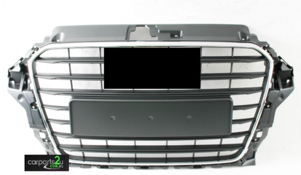 To suit AUDI A3 A3 8V  GRILLE - New quality car parts & auto spares online Australia wide with the convenience of shopping from your own home. Carparts 2U Penrith Sydney