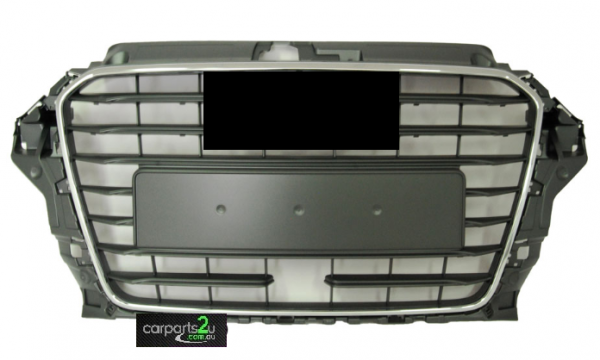 To suit AUDI A3 A3 8P  GRILLE - New quality car parts & auto spares online Australia wide with the convenience of shopping from your own home. Carparts 2U Penrith Sydney