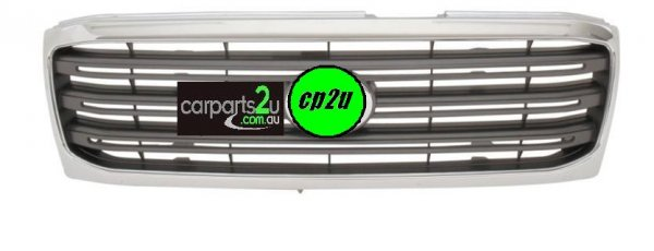To suit TOYOTA LANDCRUISER 100 SERIES  GRILLE - New quality car parts & auto spares online Australia wide with the convenience of shopping from your own home. Carparts 2U Penrith Sydney