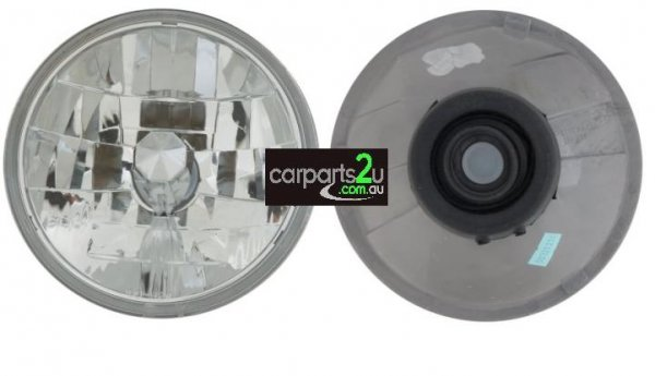 TO SUIT TOYOTA LANDCRUISER 70 SERIES  HEAD LIGHT  LEFT/RIGHT - BRAND NEW 7 INCH ROUND H4DIAMOND GLASS TYPE HEAD LIGHT TO SUIT TOYOTA LANDCRUISER 70 SERIES MODELS BETWEEN 11/1984-1/2007  - New quality car parts & auto spares online Australia wide with the convenience of shopping from your own home. Carparts 2U Penrith Sydney
