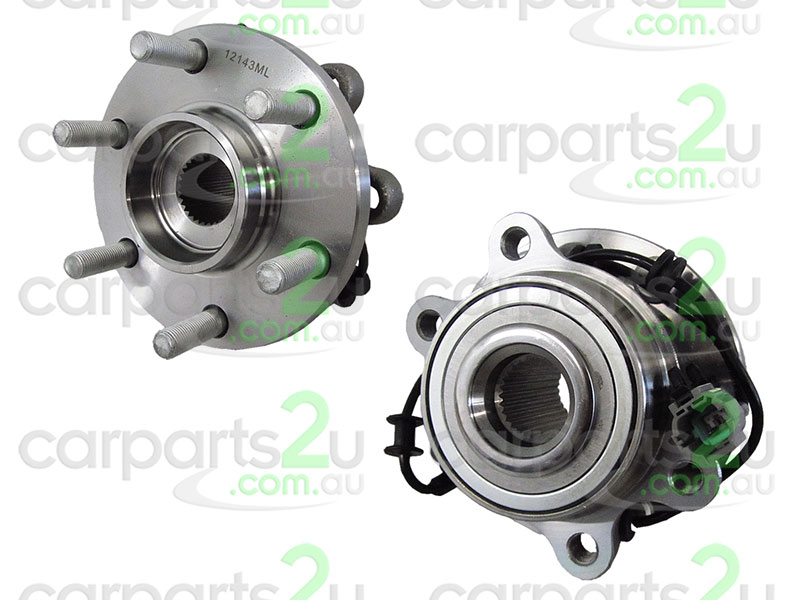To suit NISSAN NAVARA D40T UTE *THAI BUILD MNT*  FRONT WHEEL HUB - New quality car parts & auto spares online Australia wide with the convenience of shopping from your own home. Carparts 2U Penrith Sydney