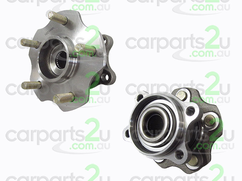 To suit NISSAN X-TRAIL T31  REAR WHEEL HUB - New quality car parts & auto spares online Australia wide with the convenience of shopping from your own home. Carparts 2U Penrith Sydney