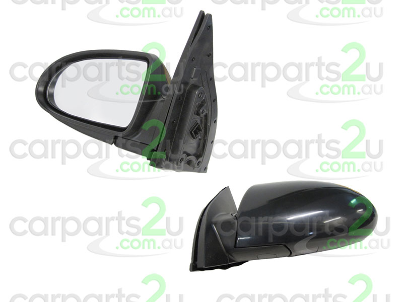 To suit HYUNDAI ACCENT  FRONT DOOR MIRROR - New quality car parts & auto spares online Australia wide with the convenience of shopping from your own home. Carparts 2U Penrith Sydney