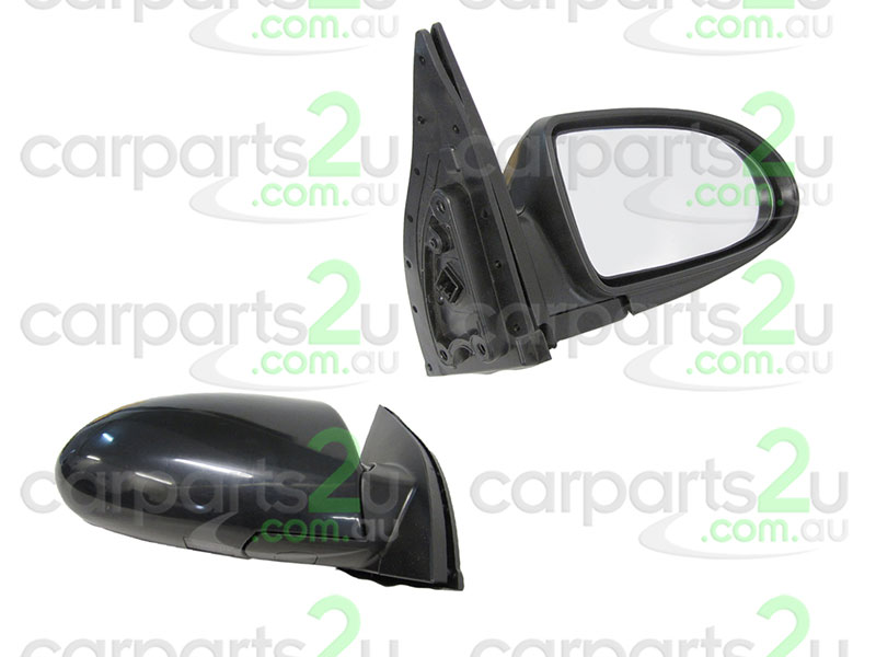 To suit HYUNDAI ACCENT MC  FRONT DOOR MIRROR - New quality car parts & auto spares online Australia wide with the convenience of shopping from your own home. Carparts 2U Penrith Sydney