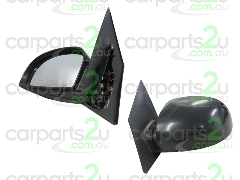To suit HYUNDAI GETZ TB  FRONT DOOR MIRROR - New quality car parts & auto spares online Australia wide with the convenience of shopping from your own home. Carparts 2U Penrith Sydney