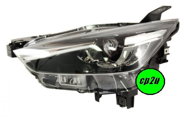TO SUIT MAZDA CX-3 CX-3 DK  HEAD LIGHT  LEFT - BRAND NEW GENUINE MAZDA LEFT HAND SIDE LED HEADLIGHT TO SUIT MAZDA CX-3 S TOURING AND AKARI MODELS ONLY BETWEEN 3/2015 - 4/2017