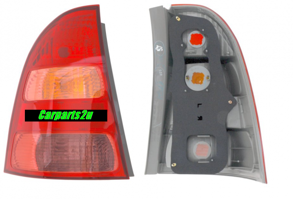 TO SUIT TOYOTA COROLLA ZZE122  TAIL LIGHT  LEFT - BRAND NEW *GENUINE TOYOTA* LEFT HAND SIDE TAIL LIGHT TO SUIT TOYOTA COROLLA WAGON MODELS ONLY BETWEEN 4/2004-3/2007 ONLY