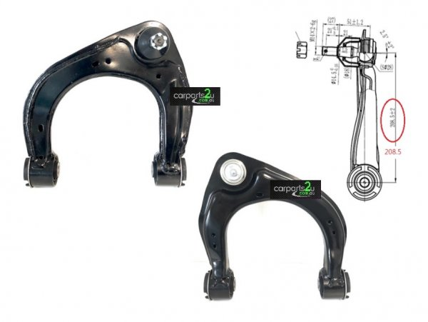 TO SUIT FORD RANGER RANGER UTE PX SERIES 3  UPPER CONTROL ARM  LEFT - BRAND NEW FRONT LEFT UPPER CONTROL ARM WITH BALL JOINT TO SUIT FORD RANGER MODEL PX 1/2/3 2WD MODEL BETWEEN 09/2011-CURRENT