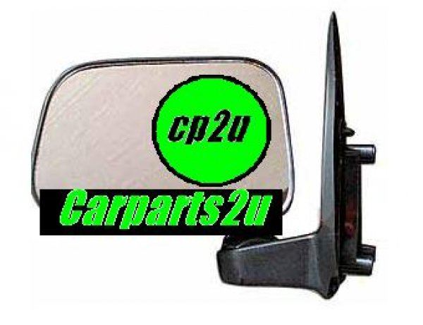 TO SUIT TOYOTA HILUX HILUX UTE 2WD  FRONT DOOR MIRROR  LEFT - BRAND NEW LEFT HAND SIDE FRONT DOOR MIRROR TO SUIT TOYOTA HILUX 2WD/4WD MODELS BETWEEN 8/1997-9/2001 (MANUAL SAIL MOUNT TYPE)