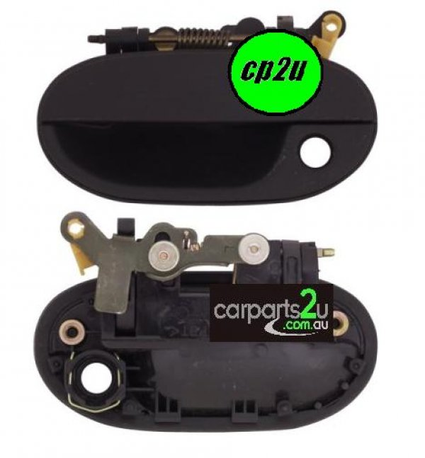 To suit HYUNDAI EXCEL EXCEL X3  DOOR HANDLE - New quality car parts & auto spares online Australia wide with the convenience of shopping from your own home. Carparts 2U Penrith Sydney