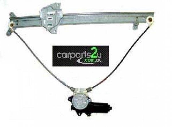 TO SUIT MITSUBISHI PAJERO NL  WINDOW REGULATOR  LEFT - BRAND NEW LEFT HAND SIDE FRONT DOOR WINDOW REGULATOR