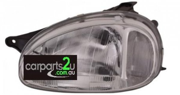 To suit HOLDEN BARINA  HEAD LIGHT - New quality car parts & auto spares online Australia wide with the convenience of shopping from your own home. Carparts 2U Penrith Sydney