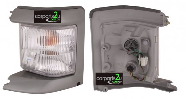 TO SUIT FORD ECONOVAN ECONOVAN JH  FRONT CORNER LIGHT  LEFT - SILVER LEFT HAND SIDE FRONT CORNER LAMP