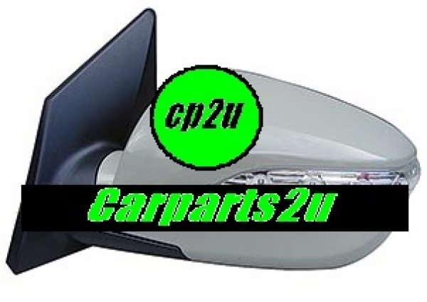To suit HYUNDAI IX35 IX35  FRONT DOOR MIRROR - New quality car parts & auto spares online Australia wide with the convenience of shopping from your own home. Carparts 2U Penrith Sydney