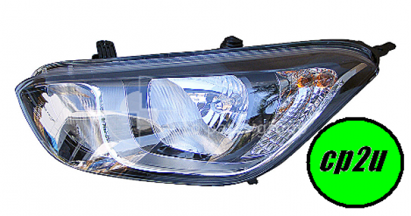 To suit HYUNDAI I20 I20  HEAD LIGHT - New quality car parts & auto spares online Australia wide with the convenience of shopping from your own home. Carparts 2U Penrith Sydney