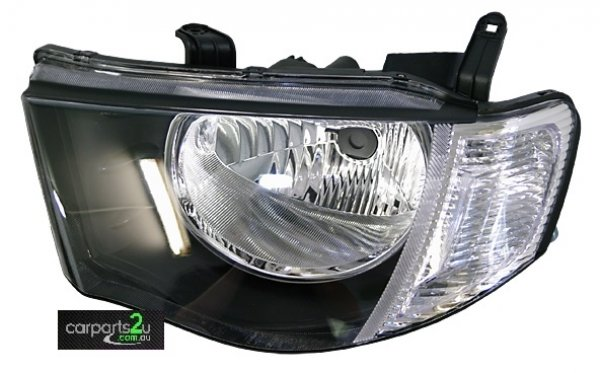 TO SUIT MITSUBISHI TRITON MN  HEAD LIGHT  LEFT - BRAND NEW LEFT HAND SIDE HEAD LIGHT TO SUIT MITSUBISHI TRITON MN (09/2009-03/2015)  - New quality car parts & auto spares online Australia wide with the convenience of shopping from your own home. Carparts 2U Penrith Sydney