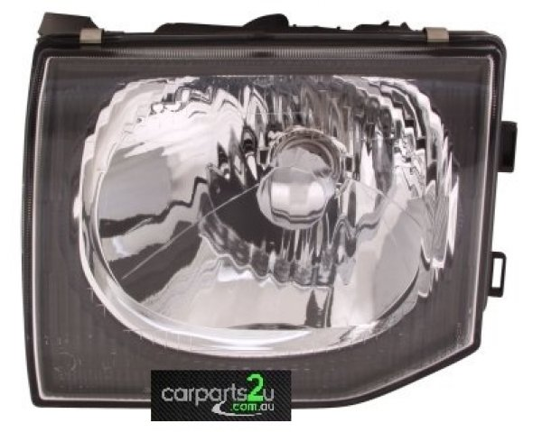 To suit MITSUBISHI PAJERO SF  HEAD LIGHT - New quality car parts & auto spares online Australia wide with the convenience of shopping from your own home. Carparts 2U Penrith Sydney