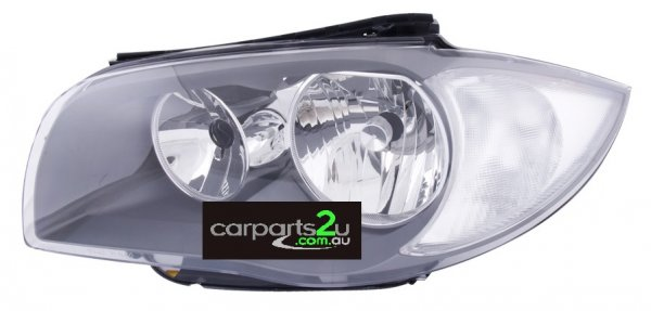 To suit BMW 1 SERIES E87 5 DOOR  HEAD LIGHT - New quality car parts & auto spares online Australia wide with the convenience of shopping from your own home. Carparts 2U Penrith Sydney