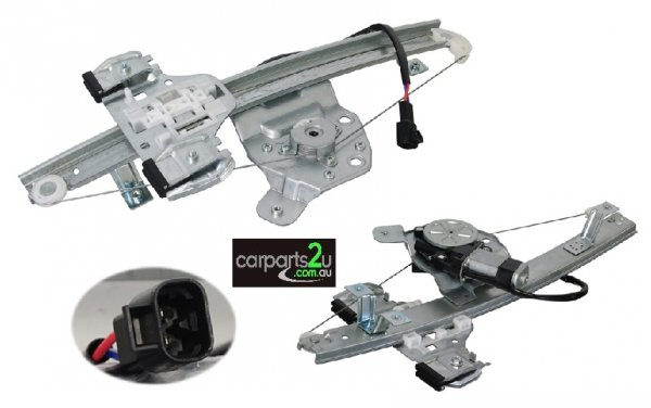 WINDOW REGULATOR NA BRAND NEW REAR LEFT HAND SIDE ELECTRIC WINDOW REGULATOR WITH MOTOR TO SUIT HOLDEN COMMODORE VE SERIES 1 & 2 (08/2006-05/2013)