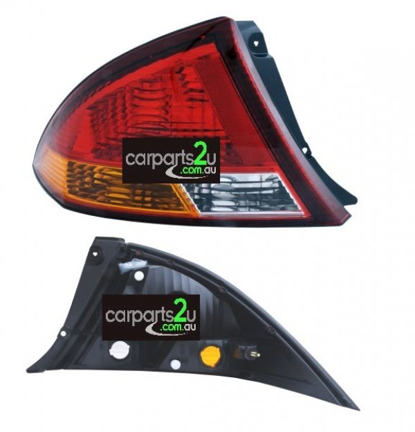TO SUIT FORD FALCON AU  TAIL LIGHT  LEFT - BRAND NEW LEFT HAND SIDE RED/AMBER/CLEARTAIL LIGHT TO SUIT FORD FALCON AU SERIES 1 SEDAN (09/1998-09/2000)  - New quality car parts & auto spares online Australia wide with the convenience of shopping from your own home. Carparts 2U Penrith Sydney