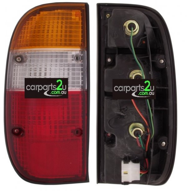 TO SUIT FORD COURIER PG/PH  TAIL LIGHT  LEFT - TO SUIT LEFT HAND SIDE FORD COURIER UTE PE/PG (1999-2004) RED/CLEAR/AMBER