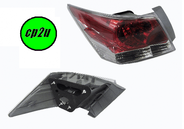 To suit HONDA ACCORD JAZZ GE/GP  TAIL LIGHT - New quality car parts & auto spares online Australia wide with the convenience of shopping from your own home. Carparts 2U Penrith Sydney