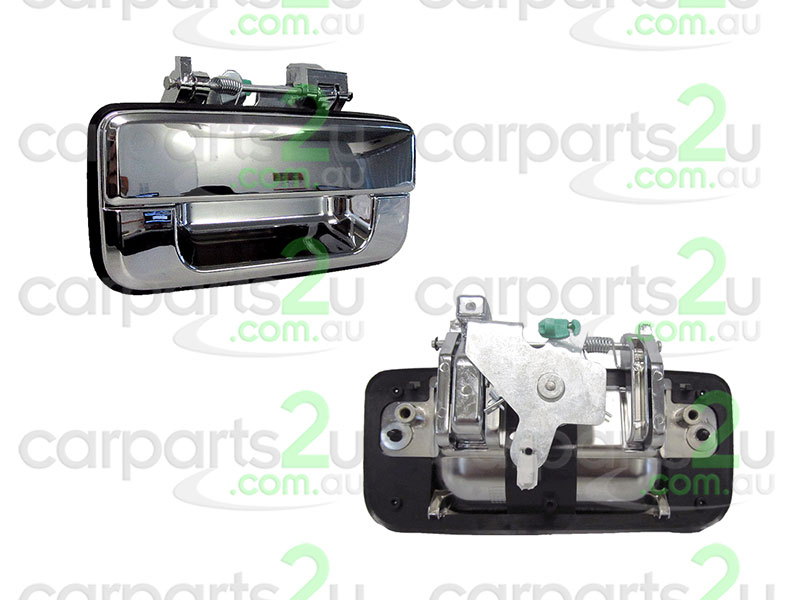 To suit MAZDA BT-50  PC  TAIL GATE HANDLE - New quality car parts & auto spares online Australia wide with the convenience of shopping from your own home. Carparts 2U Penrith Sydney