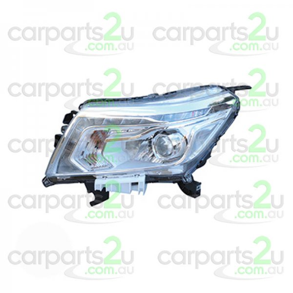 TO SUIT NISSAN NAVARA NP300  HEAD LIGHT  LEFT - BRAND NEW GENUINE NISSAN LEFT HAND SIDE HEADLIGHT TO SUIT NISSAN NAVARA NP300 ST/ST-X MODELS BETWEEN 4/2015 -CURRENT (LED PROJECTOR TYPE)  - New quality car parts & auto spares online Australia wide with the convenience of shopping from your own home. Carparts 2U Penrith Sydney